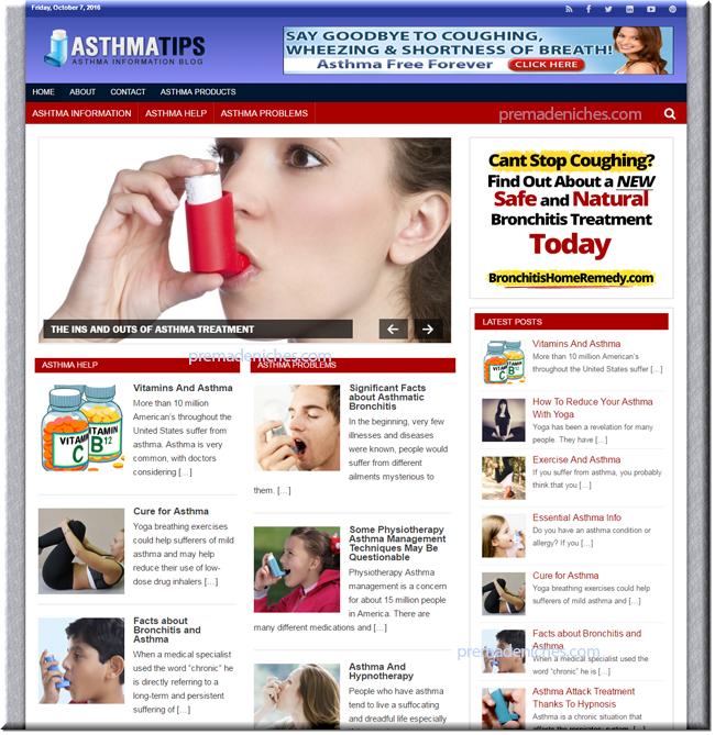 Asthma Niche Blog