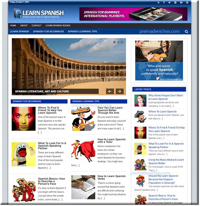 Learn Spanish Blog