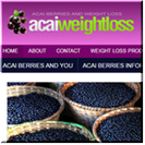 Weight Loss Acai Berry