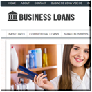 Business Loans Website