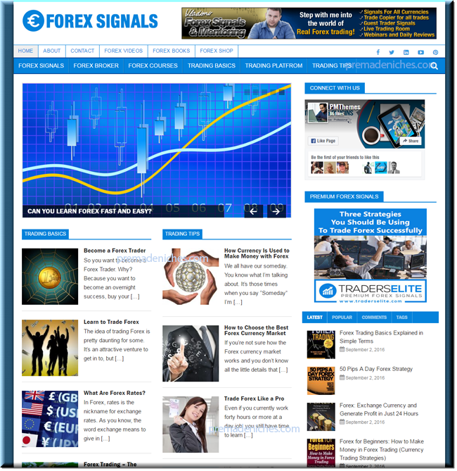 Trading signals website