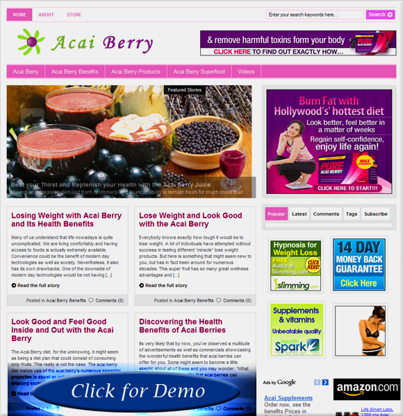 Acai Berry Blog