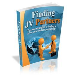 Finding JV Partners