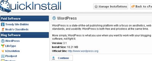 install wordpress ,wordpress installation