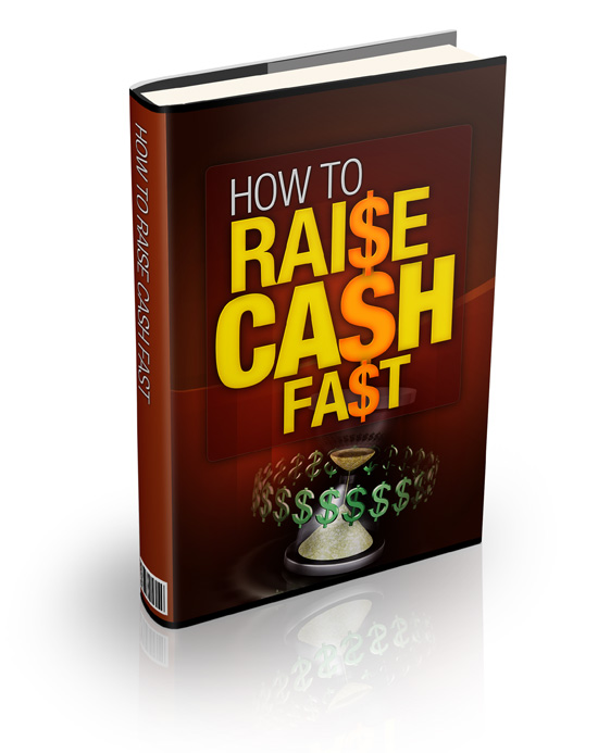 How to raise fast cash plr