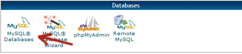 create mysql database