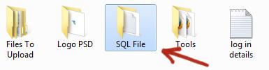 open sql file