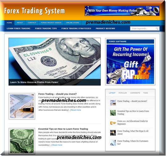 ready to upload forex blog
