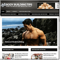 Bodybuilding PLR Blog