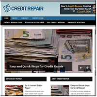 Credit Repair PLR Blog
