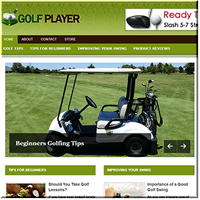 Golf Training PLR Blog