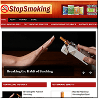 Stop Smoking PLR Blog