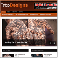 Tattoo Designs PLR Blog