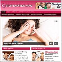 Stop Snoring PLR Blog