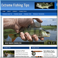 Fishing Niche PLR Blog