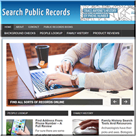 Public Records PLR Blog
