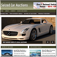 Seized Car Auctions PLR