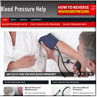 Blood Pressure PLR Blog