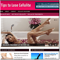 Lose Cellulite PLR Blog