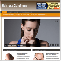 Hair Loss PLR Blog