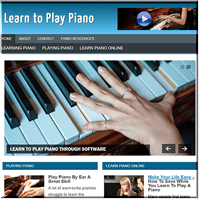 Learn Piano PLR Blog