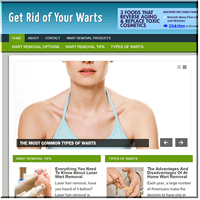 Wart Removal PLR Site