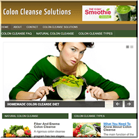 Colon Cleanse PLR Site