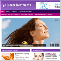 Eye Cream Turnkey Site
