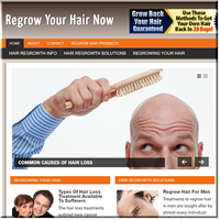 Hair Regrowth PLR Blog