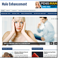 Male Enhancement PLR