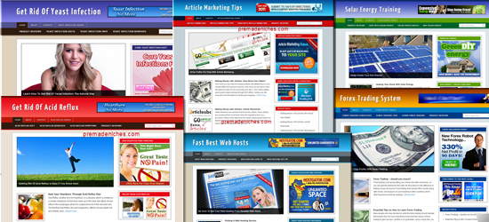 turnkey niche blogs