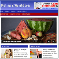 Dieting Niche Blog