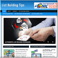List Building PLR Blog