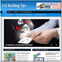 pai list building