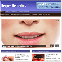 Herpes Remedy PLR Blog