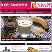 Smoothie Diet PLR Site