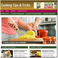 Cooking Niche Blog