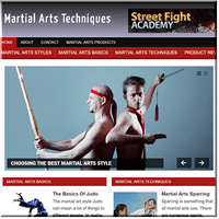Martial Arts Niche Blog