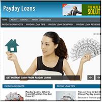 Payday Loans PLR Blog