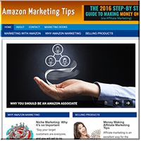 Amazon Marketing Site