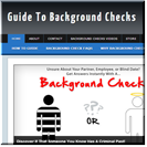 Background Checks Site