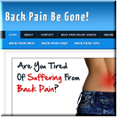 Back Pain Site