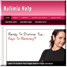 Bulimia Website