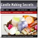 Candle Making Site