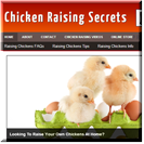 Chicken Raising Site
