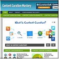 Content Curation Website