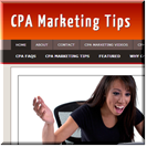 CPA Marketing Site