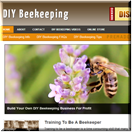 DIY Beekeeping Site