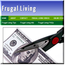 Frugal Living Site