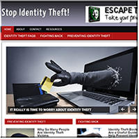 Identity Theft WebSite